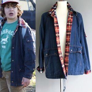 Vintage • Stranger Things denim jacket